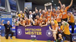 BR Volleys = German Champions 2018