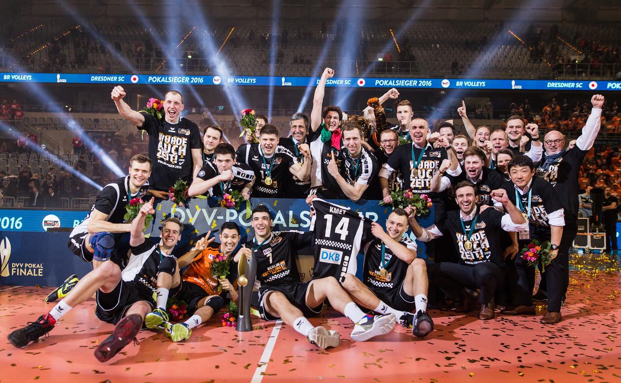 DVV Pokalsieg der BR Volleys 2015