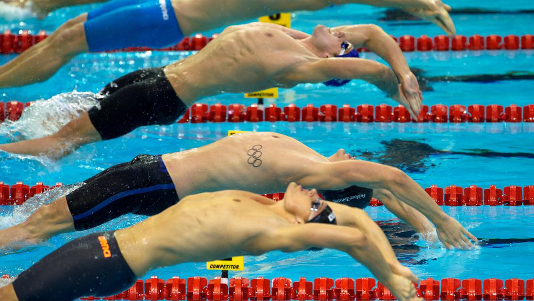 Paul Biedermann bei der Schwimm-Europameisterschaft 2014