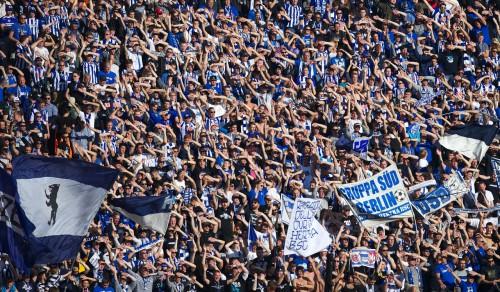 Hertha-Fanblock