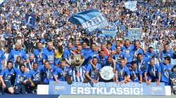 Hertha BSC back in the top league!