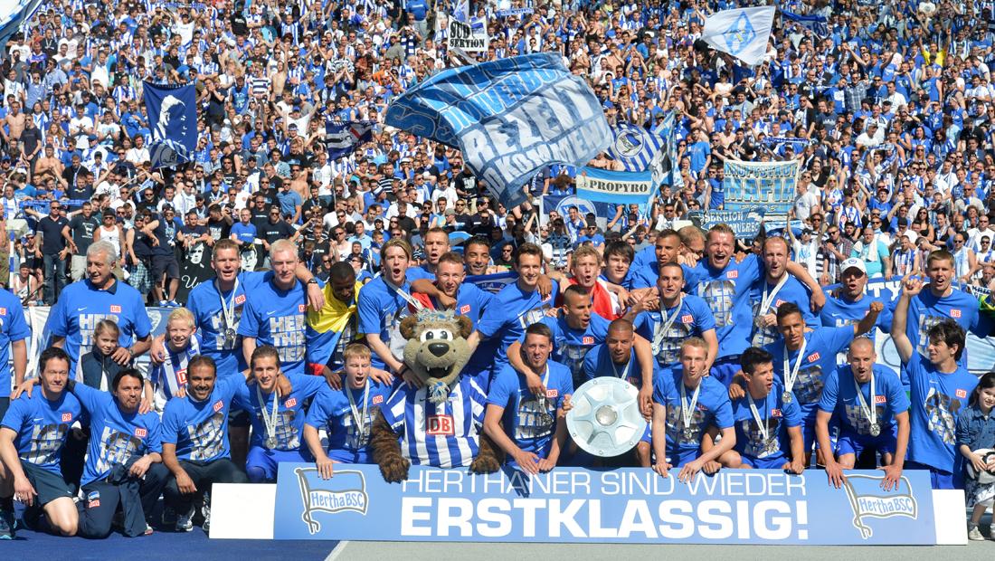 Hertha BSC wieder erstklassig!