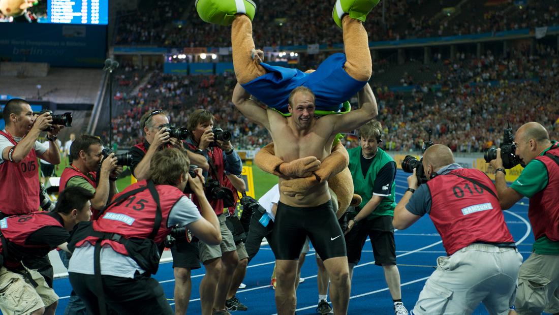 Leichtathletik-WM 2009, Robert Harting
