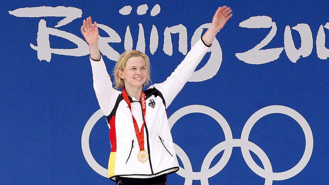 Britta Steffen – Gold in Peking 2008