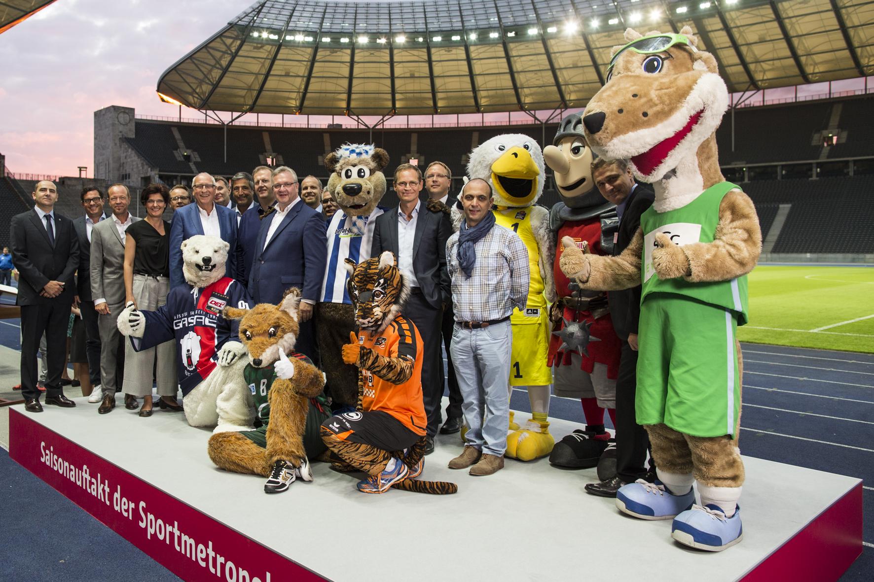 Mitglieder der Sportmetropole Berlin, (c) visitBerlin, Foto Dirk Mathesius
