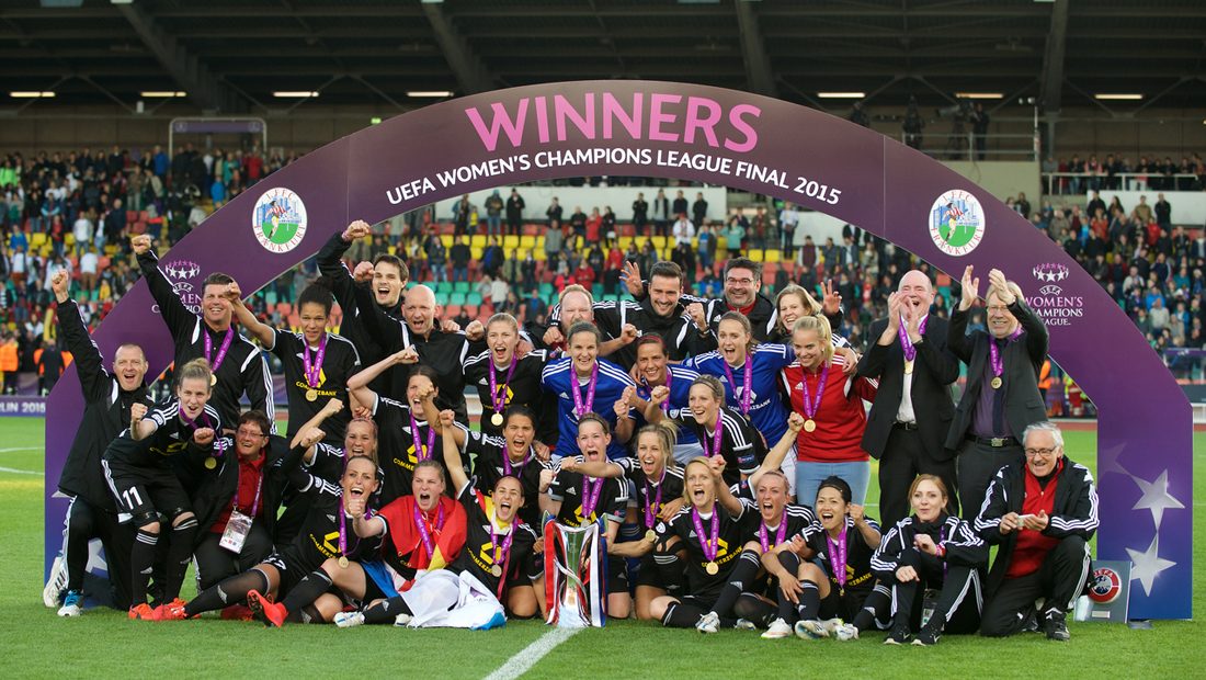1. FFC Frankfurt holt den UEFA Champions League Titel in Berlin