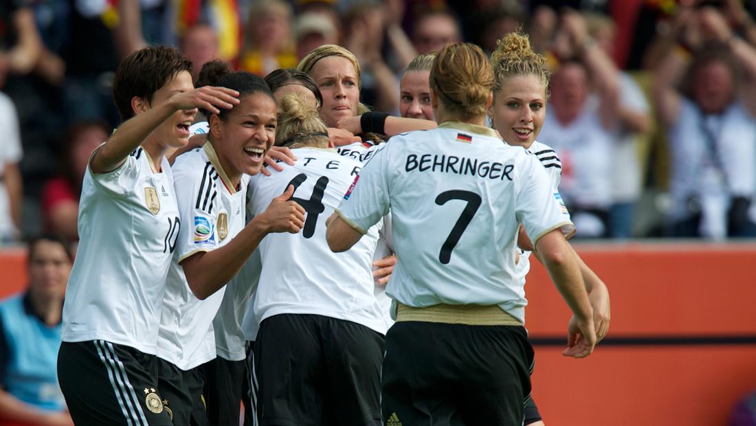Eröffnungsspiel der Frauen Fußball-WM 2011 in Berlin