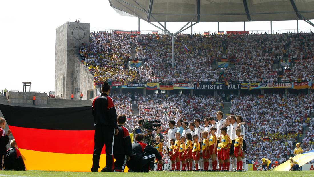 Fußball-WM 2006 im Olympiastadion Berlin